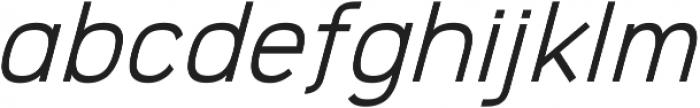 Logico Sans ttf (400) Font LOWERCASE