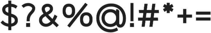 Logico Sans ttf (700) Font OTHER CHARS