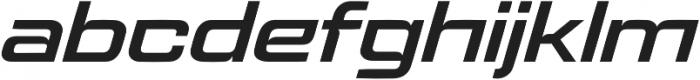 Logik LITE Extended SemiBold Oblique otf (600) Font LOWERCASE