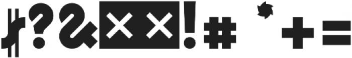 Logomotion Regular otf (400) Font OTHER CHARS