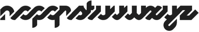 Logomotion Regular otf (400) Font LOWERCASE