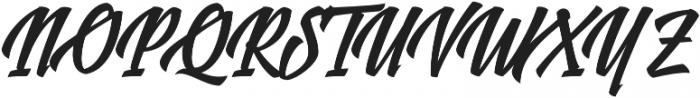 Logotype Frenzy Regular otf (400) Font UPPERCASE