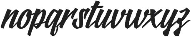 Logotype Frenzy Regular otf (400) Font LOWERCASE