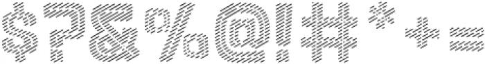 Lolapeluza Line otf (400) Font OTHER CHARS