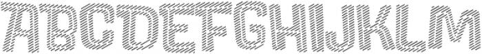 Lolapeluza Line otf (400) Font UPPERCASE