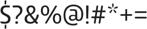 Lolita Medium otf (500) Font OTHER CHARS