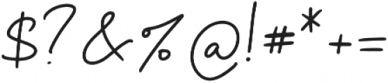 Lolita Regular otf (400) Font OTHER CHARS
