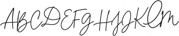 Lolita Regular otf (400) Font UPPERCASE