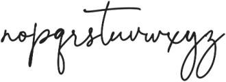 Lolita Regular otf (400) Font LOWERCASE