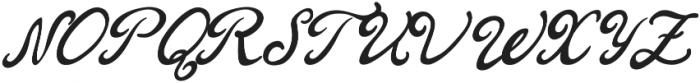 Londa otf (400) Font UPPERCASE