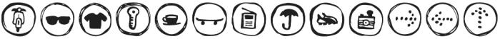 Londrina Dingbats otf (400) Font LOWERCASE