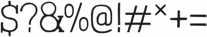 Londrina Thin Serif otf (100) Font OTHER CHARS