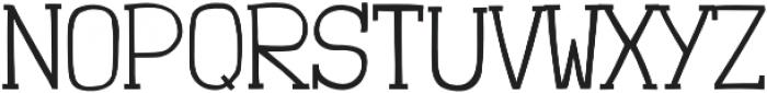 Londrina Thin Serif otf (100) Font UPPERCASE
