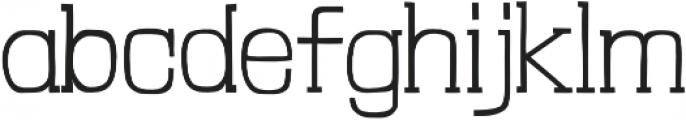 Londrina Thin Serif otf (100) Font LOWERCASE