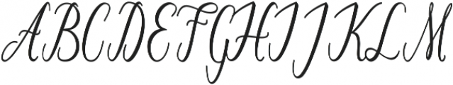 Lonely ttf (400) Font UPPERCASE