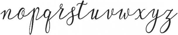 Lonely ttf (400) Font LOWERCASE