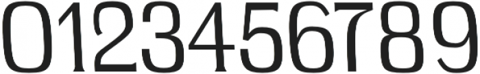 Long Bridge Regular otf (400) Font OTHER CHARS