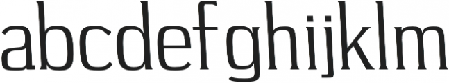 Long Bridge Regular otf (400) Font LOWERCASE