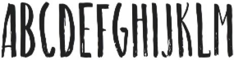 Long Brush Regular otf (400) Font UPPERCASE
