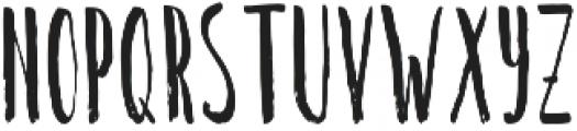 Long Brush Regular otf (400) Font LOWERCASE