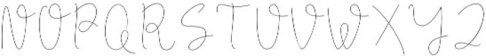 Longhair otf (400) Font UPPERCASE