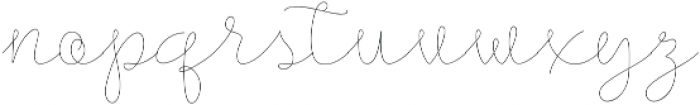 Longhair otf (400) Font LOWERCASE