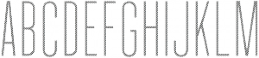 Longitude Display Stripes otf (400) Font UPPERCASE