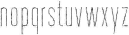 Longitude Display Stripes otf (400) Font LOWERCASE