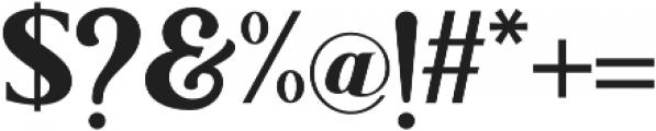 LonglineQuart otf (400) Font OTHER CHARS