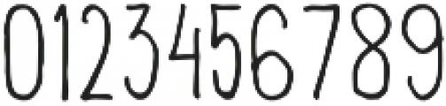 Lonjong otf (400) Font OTHER CHARS