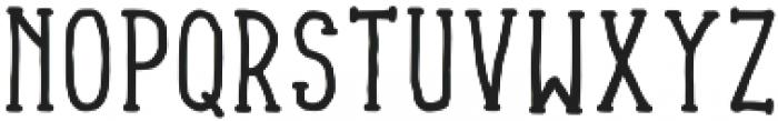 Lonjong otf (400) Font UPPERCASE