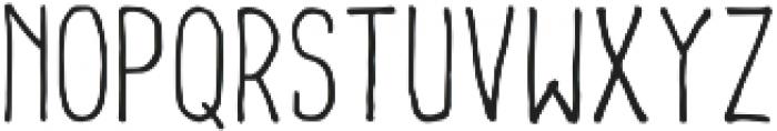 Lonjong otf (400) Font LOWERCASE