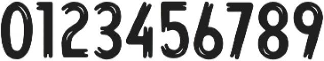 Lonkie Brush Regular otf (400) Font OTHER CHARS