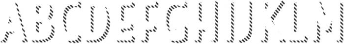 Look Sans Line Regular otf (400) Font UPPERCASE
