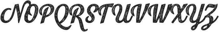 Look Script Jean Bold otf (700) Font UPPERCASE
