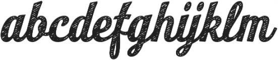 Look Script Jean Bold otf (700) Font LOWERCASE