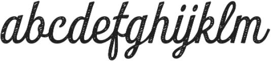 Look Script Jean Regular otf (400) Font LOWERCASE