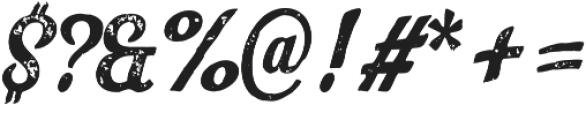 Look Script Print Bold otf (700) Font OTHER CHARS