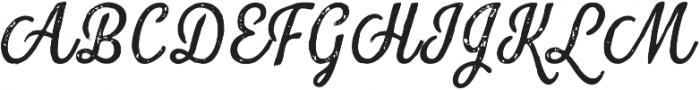 Look Script Print Regular otf (400) Font UPPERCASE