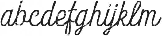 Look Script Wood Light otf (300) Font LOWERCASE