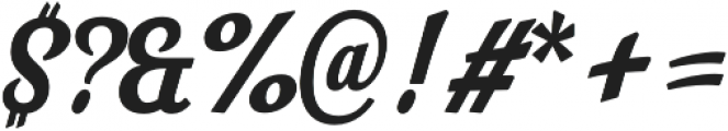 Look Script otf (700) Font OTHER CHARS