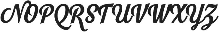 Look Script otf (700) Font UPPERCASE