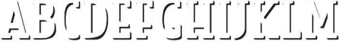Look Serif Accent Light otf (300) Font UPPERCASE