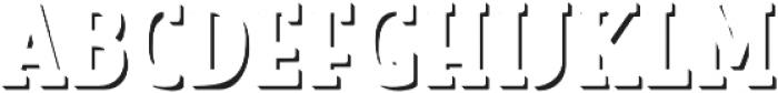 Look Serif Accent Regular otf (400) Font LOWERCASE