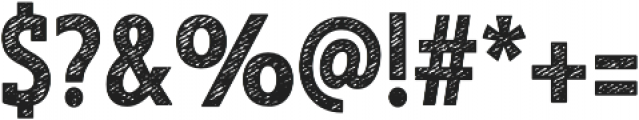 Look Serif Jean Bold otf (700) Font OTHER CHARS