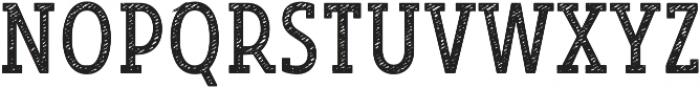 Look Serif Jean Regular otf (400) Font UPPERCASE