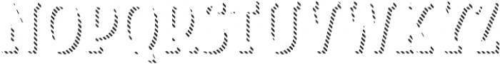 Look Serif Line Regular otf (400) Font UPPERCASE