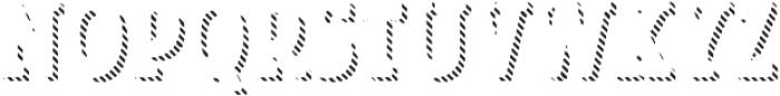 Look Serif Line Regular otf (400) Font LOWERCASE