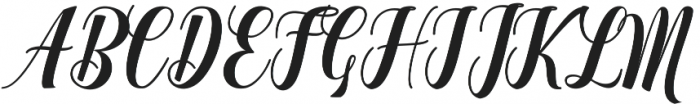 Looking otf (400) Font UPPERCASE