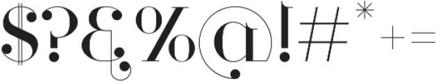 Loopkin Regular otf (400) Font OTHER CHARS